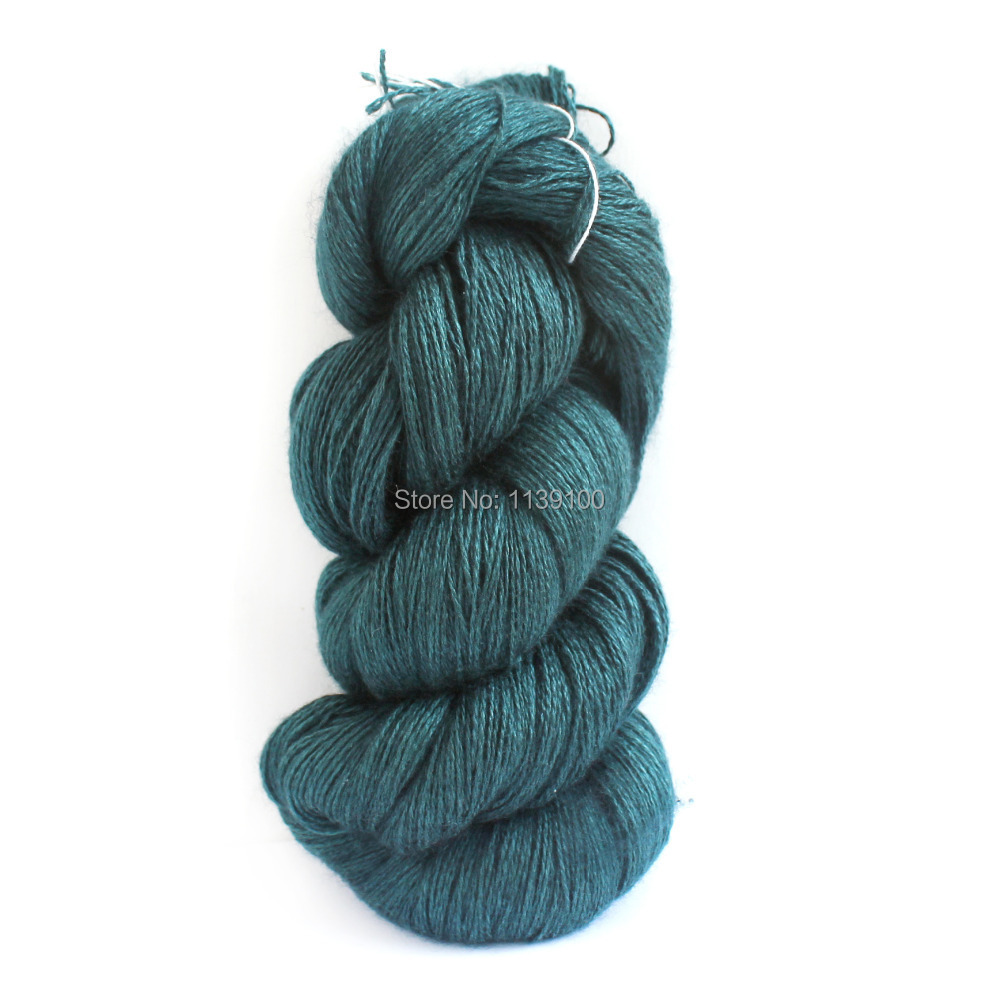Hand Knitting Yarns : Supreme quality silk cashmere fingering yarn