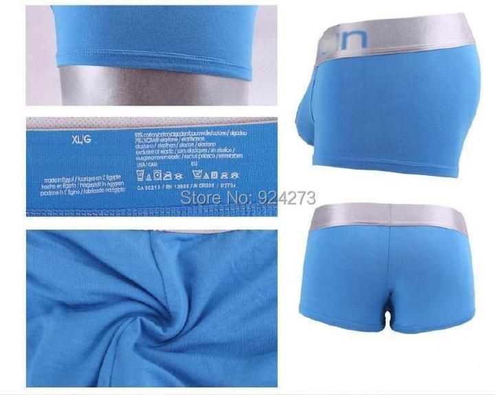 10pcs/lot boxer underwear men sexy men's boxer shorts cueca shorts men short trunk boxing day sale!(China (Mainland))