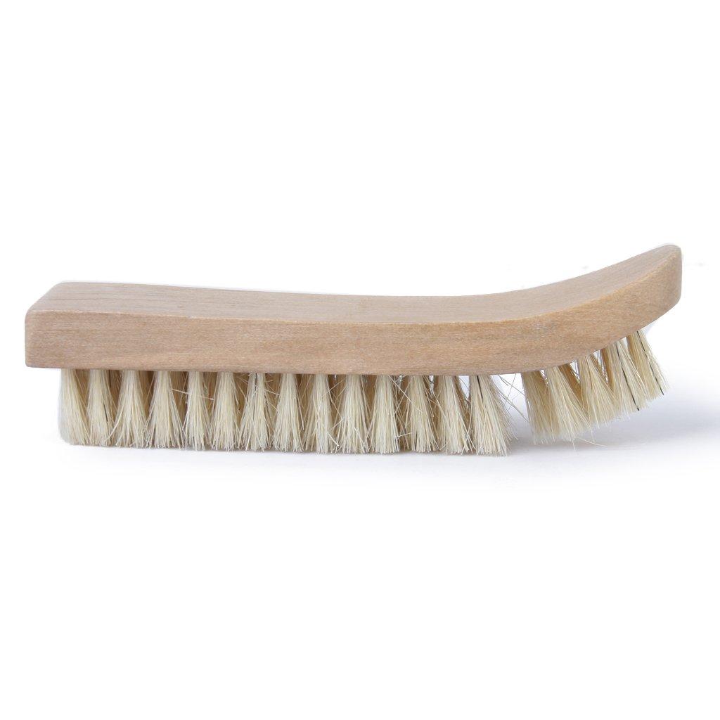 1 x Shoe/Boot Wooden Polish Applicator Polishing/Buffing Brush(China (Mainland))