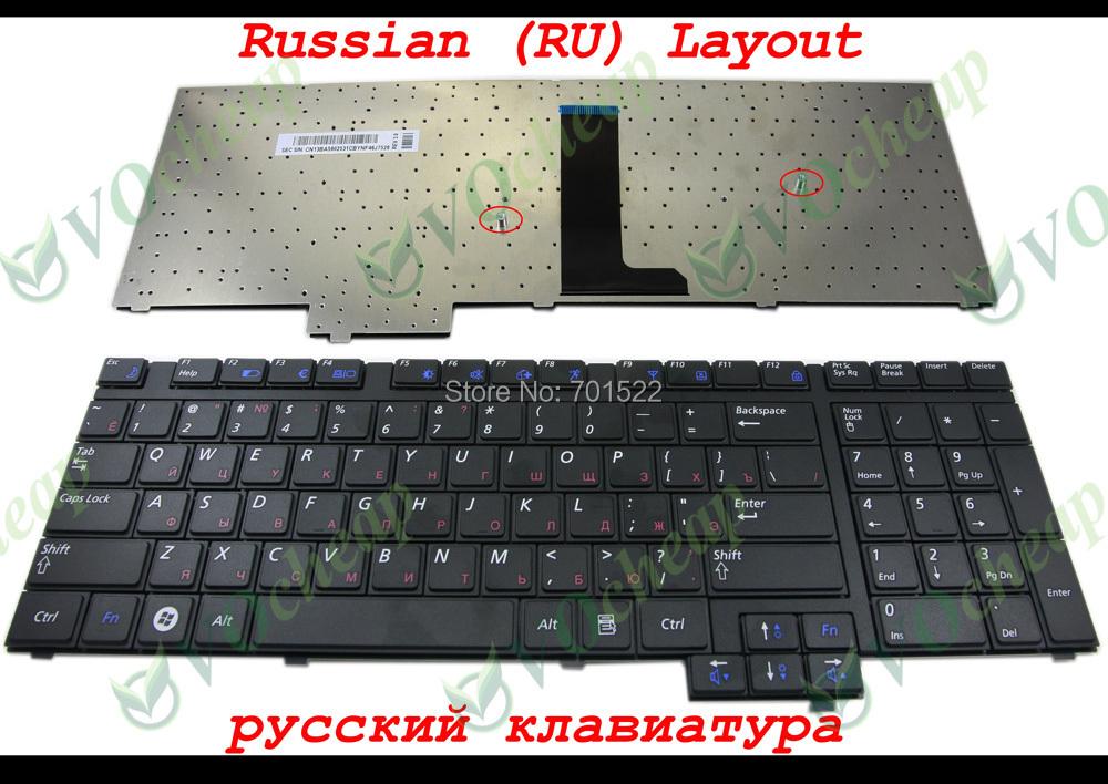 Genuine New Laptop keyboard Samsung R718 NP-R718 R720 NP-R720 R730 NP-R730 Black Russian RU Version - CNBA5902531 Hangzhou Ampro Electronics Co., Ltd. store