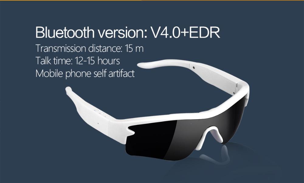 OZero FreeShipping 2016 Smartglass Fashion Sport Headset Bluetooth Cycling Drivi