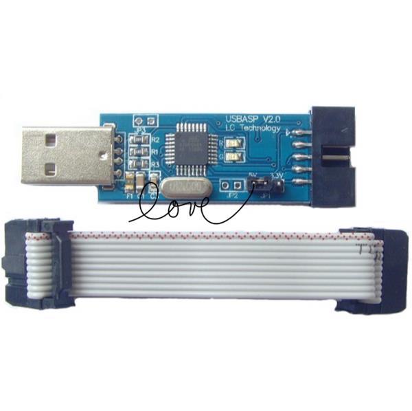 USB ISP Programmer for ATMEL AVR ATMega ATTiny 51 AVR Board ISP(China (Mainland))