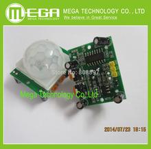 Free shipping 1pcs HC-SR501  HCSR501  Adjust IR Pyroelectric Infrared PIR Motion Sensor Detector Module(China (Mainland))