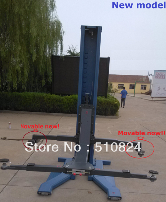 2014 New Product Used Single Post Car Lifts For Sale