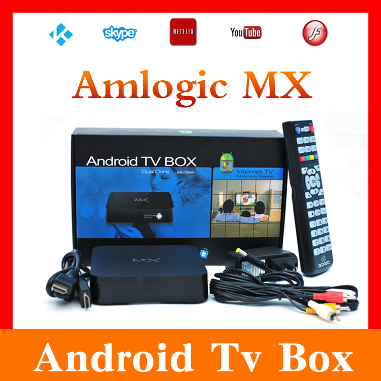 Amlogic MX8726 Android 4.2 Smart TV Box XBMC Dual Core Cortex A9 1GB Ram 8GB Rom Wifi Full HD Media Player(China (Mainland))