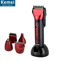 Kemei 8058 With shaving word five in one multifunctional electric clippers rechargeable hair trimmer