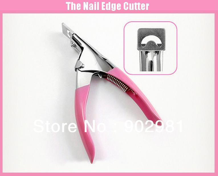 Professional Nail Clipper Edge Cutter French Nail Acrylic Art Shear Tip, Nail Care, Free Shipping 4UNL97(China (Mainland))