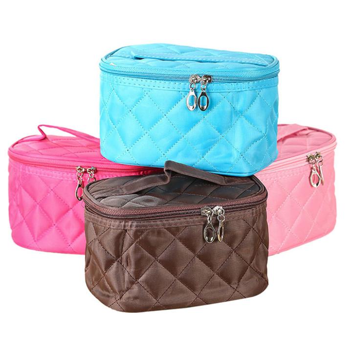 Creative New Girl Travel Handbag Cosmetic Casual Makeup Storage Bag Fashion Practical Professional Cosmetic Cases(China (Mainland))