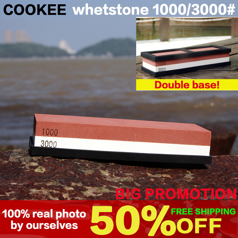 1000 3000# professional Kitchen Whetstone Sharpening Stones for a Knife Double Side Sharpener Knife System diamond kitchenware(China (Mainland))