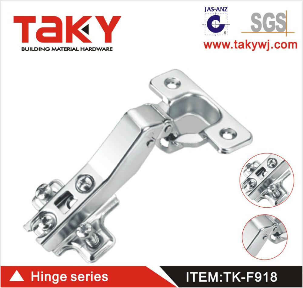 TK-F918 40degree slide on self closing concealed hinge for furniture cabinet(China (Mainland))