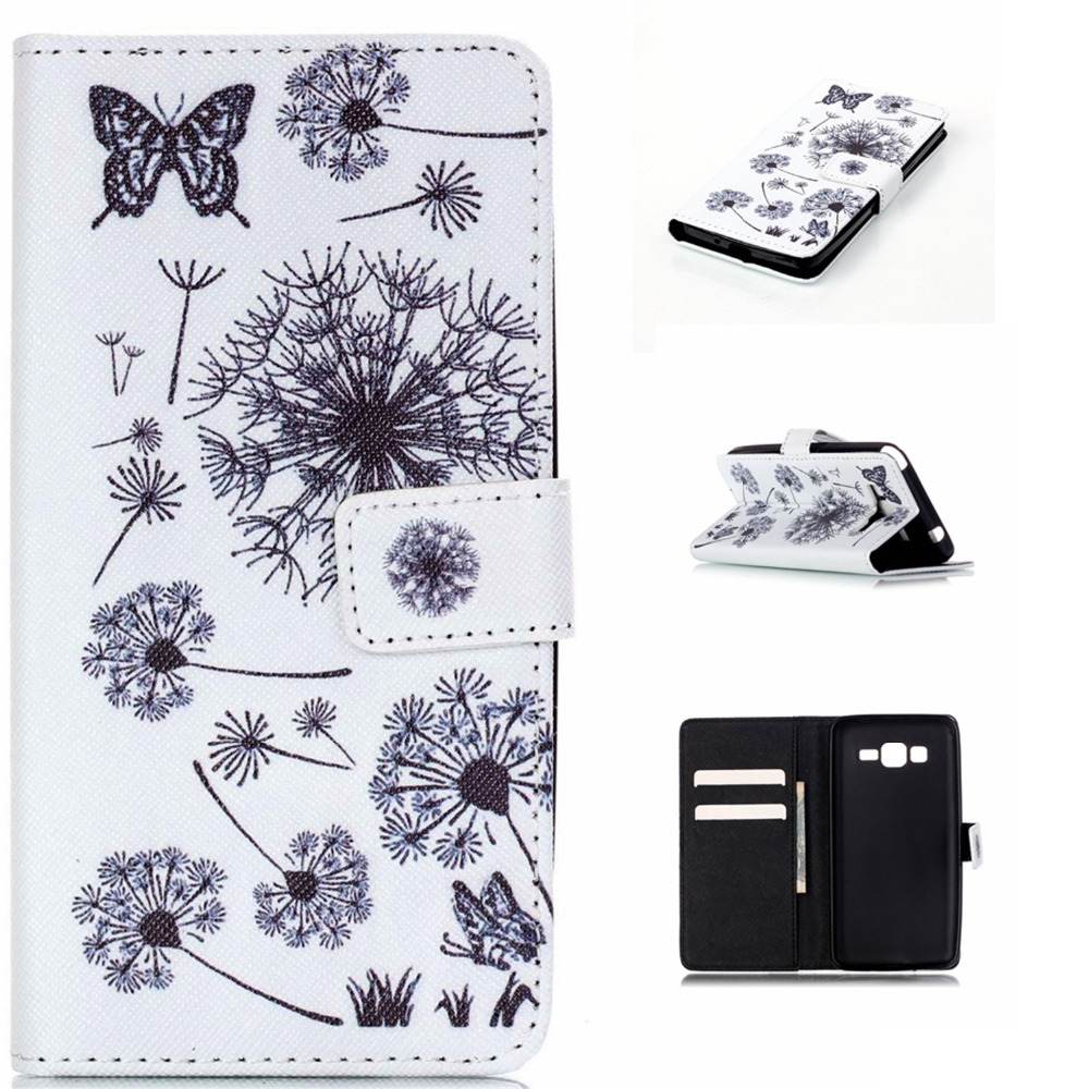 Wallet Case For Samsung Galaxy S3 S4 S5 S6 edge S7 edge Note4 Note5 Grand prime A310 A510 Grand Neo Leather Cover Card Solt
