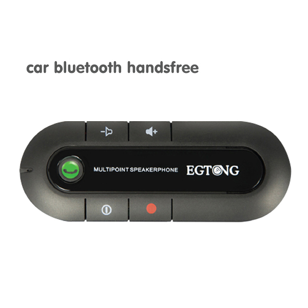 Universal car bluetooth Handsfree kit hands free Bluetooth AUX music receiver Speaker Dual Phones Connecting for All Smartphones(China (Mainland))