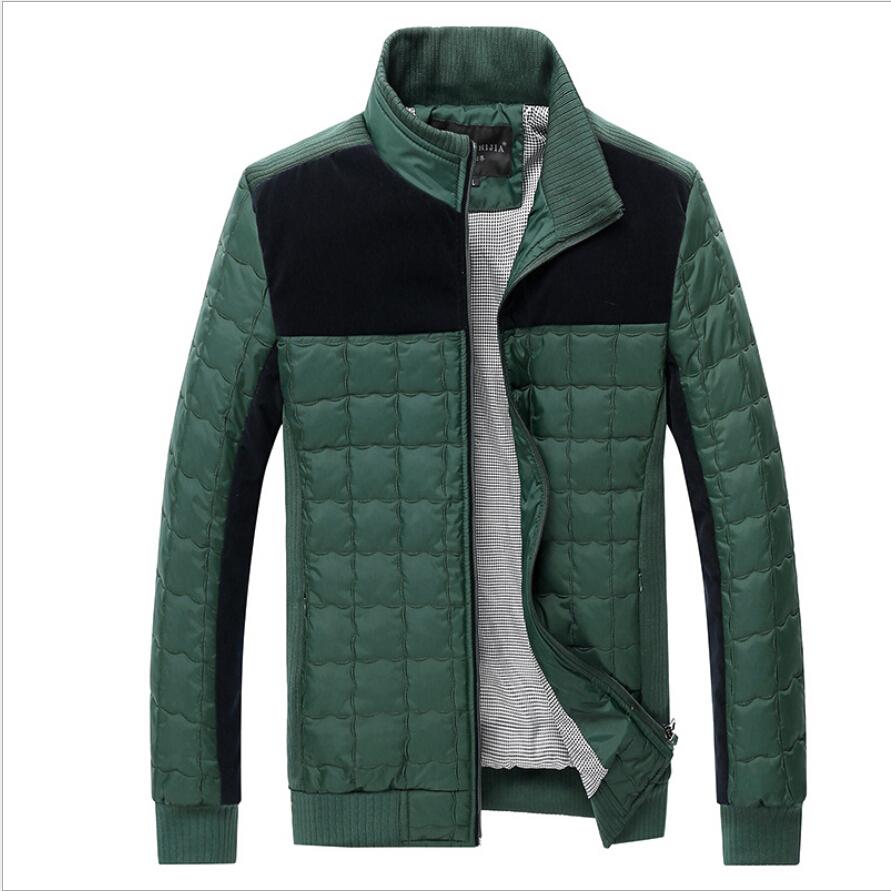 2015 men winter jacket plus size casual coat new fall Mens ...