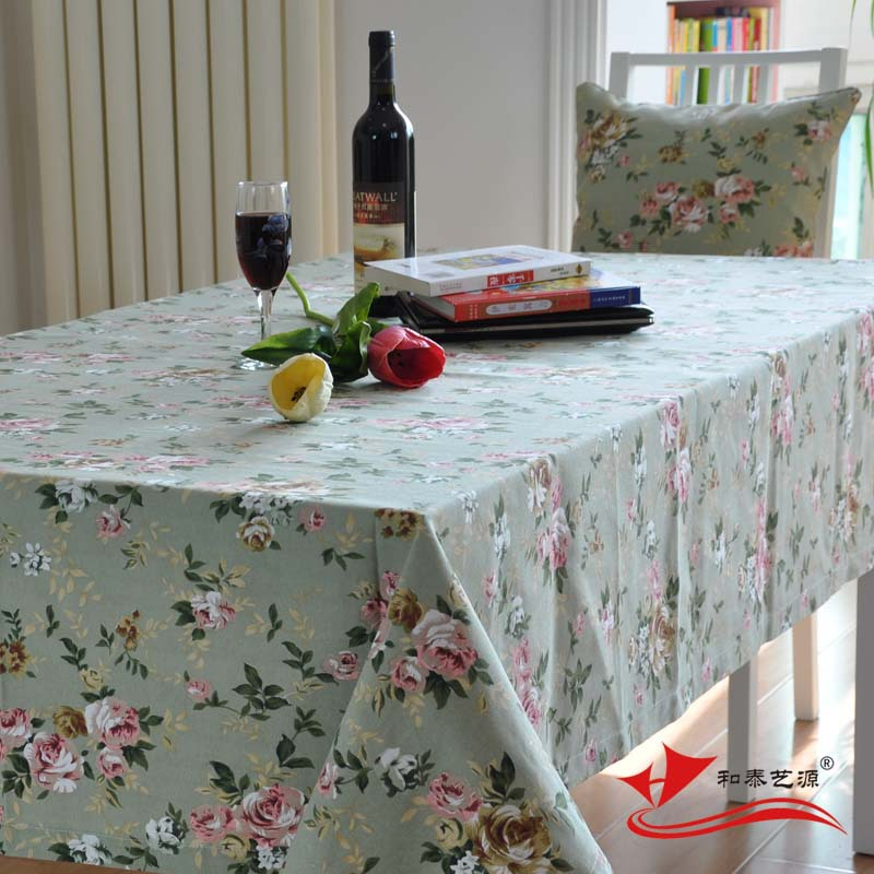 Hetaiyiyuan Fashion Coffee Table Cloth Dining Table Cover Fabric Cover Cloth Pastoral Small
