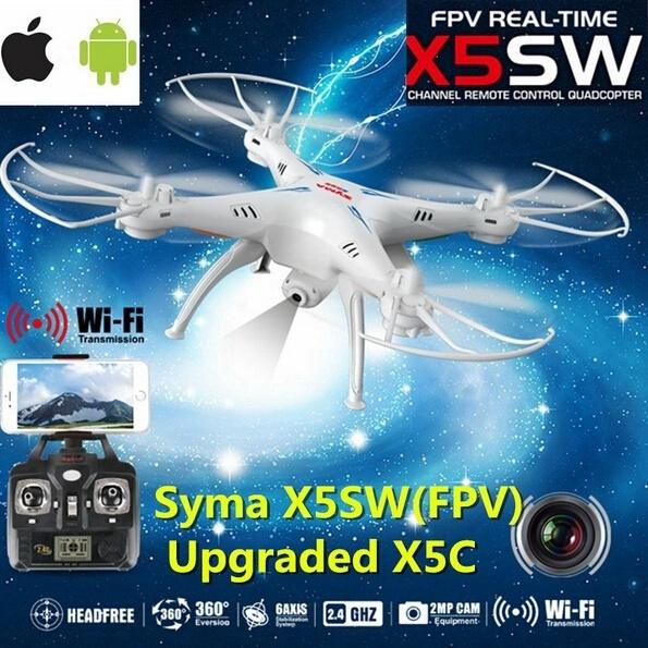 Syma X5SW Explorers 2 Wifi FPV 6 axis Gyro RC Quadcopter 2MP Camera RTF 2 4GH