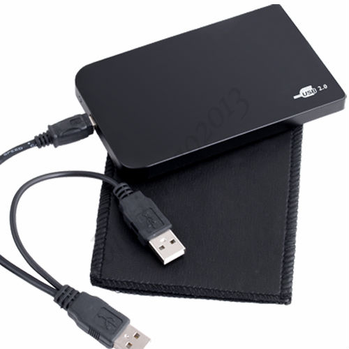 "USB 2.5"" Hard Drive IDE HDD HD External Enclosure Case wholesale free shipping(China (Mainland))"