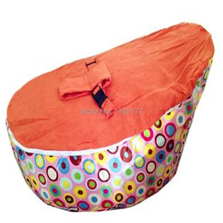 Ywxuege Wholesale Orange Rainbow Dots Baby Chair Portable