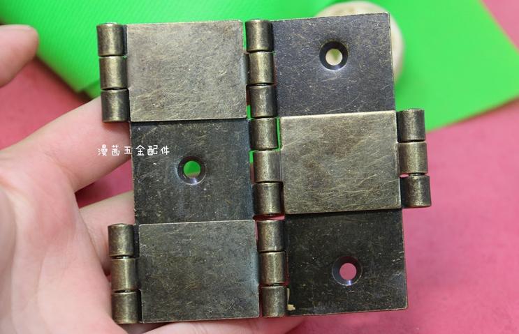 "3"" Folding Screen Hinge, bronze hinge,furniture steel hinge box hinges 4pcs(China (Mainland))"