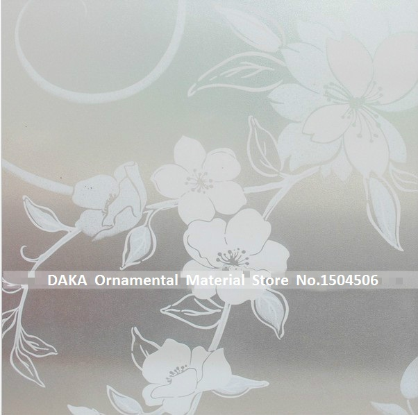 90 300cm top grade pvc self adhesive decorative frosted