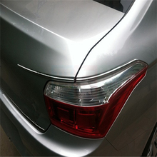 Buy car auto sedan cover styling CITROEN Elysee 2013 2014 2015 2016 ABS chrome stainless steel tail rear lamp light eyelid trim for $26.84 in AliExpress store