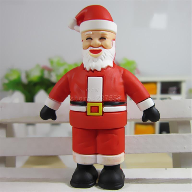 Pen Drive Santa Claus 8GB 16GB 32GB 64GB Usb Flash Drive memory stick Pendrive Pendriver mini best gift(China (Mainland))