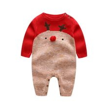 Buy 2016 Autumn/Winter Baby Romper Knitting Clothes Long Sleeve dot plaid Boy Girl Baby Jumpsuit Newborn Baby Clothing for $18.99 in AliExpress store