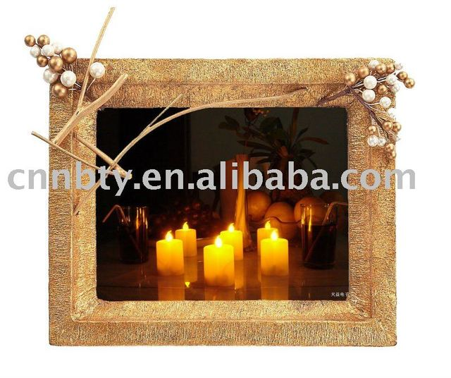 Button cell operated LED Tea Light Candle
