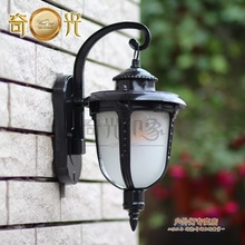 European rural contracted and contemporary sitting room led garden light waterproof outdoor balcony wall lamp stairs
