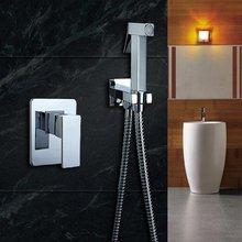 Bathroom bidet shower mixer toilet spray bidet shower set include hand shower gun bidet taps(China (Mainland))
