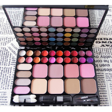 72 Full Color Eye Shadow Palette 44 Color Eyeshadow+8 Color Blusher+20 Color Lip Gross Cosmetic Palette Professional Makeup Tool