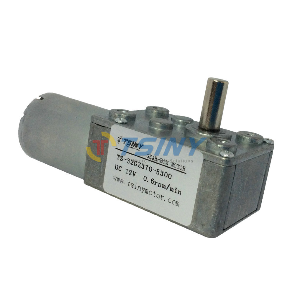 370 DC 12V 0.6RPM Gear Motor of small low rpm motors reduction Motor Metal,Free Shipping(China (Mainland))
