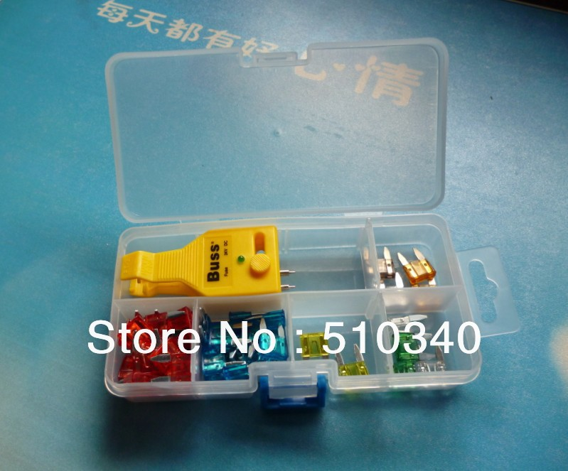 NEW 90pcs Automotive Car Blade Fuse Box Assortment Suv Truck Car Fuses + Fuse Tester + Fuse Tube free shipping<br><br>Aliexpress
