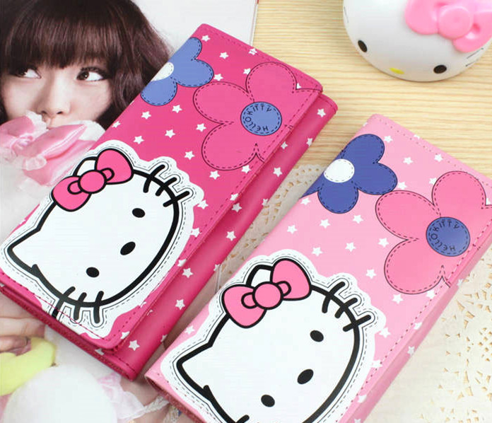 New Hello kitty Long Wallet Bag yey-026(China (Mainland))
