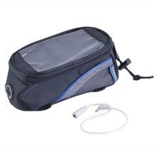 """ROSWHEEL4.8 """"4.2"""" 5.5 """"Sacos Cestos de Ciclismo Da Bicicleta Da Bicicleta do Tubo Do Quadro Dianteiro Bag Para Celular Bicicleta MTB saco de Tela de toque(China)"""
