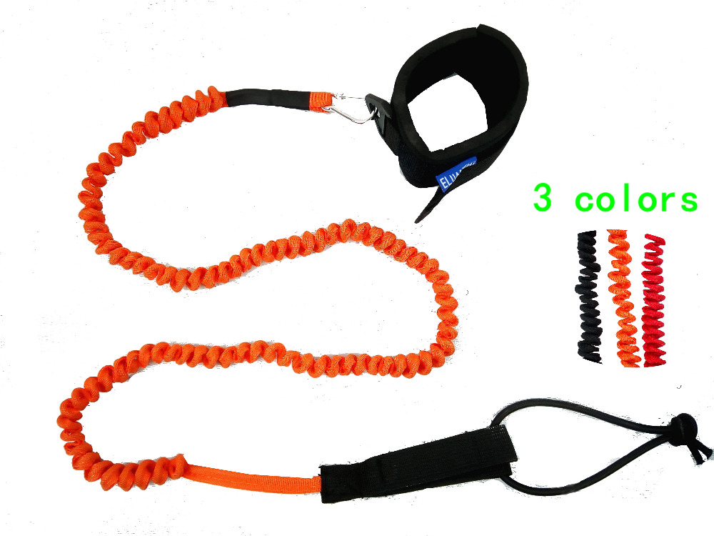 ( 80sets )12' Coil surf leash leg rope of sup board by #3421(China (Mainland))