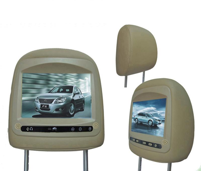 HOT!car headrest monitor dvd player back seat tv for car headrest dvd player for BYD F6(China (Mainland))