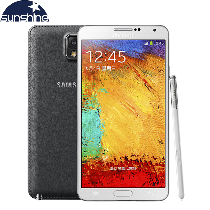 Original Samsung Galaxy Note 3 N9005 Mobile Phone 5.7