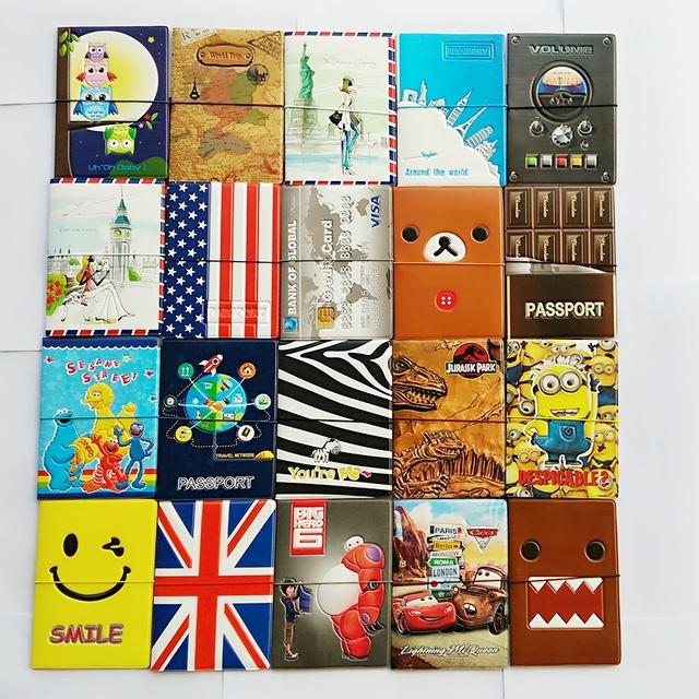 Стильные обложки для паспорта и иных документов. Размеры: 14 x 9.6 см , 22 вида в ...