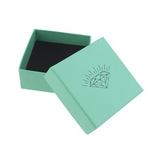 Wholesale Fashion Jewelry Box tiff blue Rings Box Earrings/Pendant Box Display Packaging Gift Box lot of 10pieces(China (Mainland))