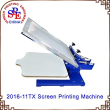 one color manual screen printing machine single color screen printing machine press