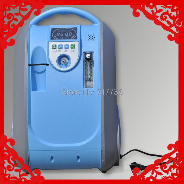 5L mini Portable Oxygen Concentrator 40%-90% Adjustable oxygen bar Air Ionizer for HOME/CAR/TRAVEL(China (Mainland))