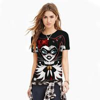 New Style T Shirt Summer Women Men T-shirt Street Style Couples Tee Unisex Pattern Print Women Tops Black Tshirts Plus Size