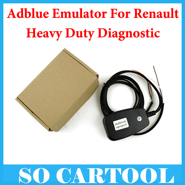 10pcs/lot AdBlue Emulator for Renault designed to disable AdBlue system used in trucks Buses and other heavy vehicles by DHL(China (Mainland))