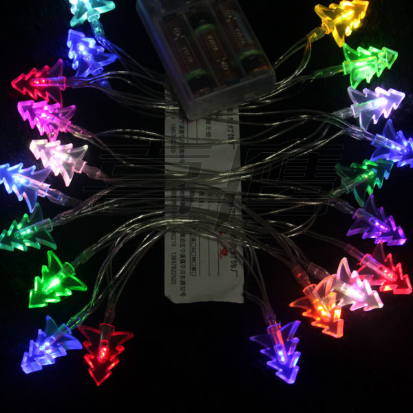 2.5M 20PCS LED battery Christmas Tree lights String decoration Christmas/Holiday/Wedding/Party ...