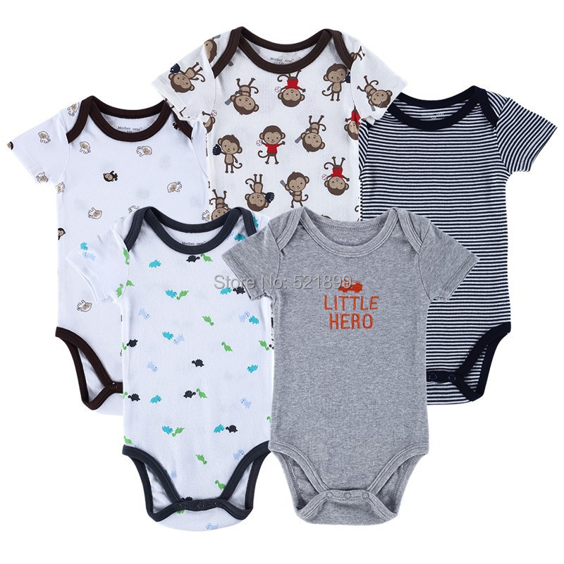Aliexpress Buy New 2016 Brand Baby Bodysuits Short
