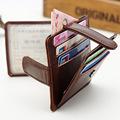 Genuine Leather ID Holders Men s Business Ultrathin Evidence Driving License Bits Ultrathin Card Holder Package