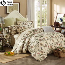 Noble bedding set 4pcs 100% egyptian cotton duvet quilt covers bed sheet comforters bedclothes coverlet bedcover king queen size