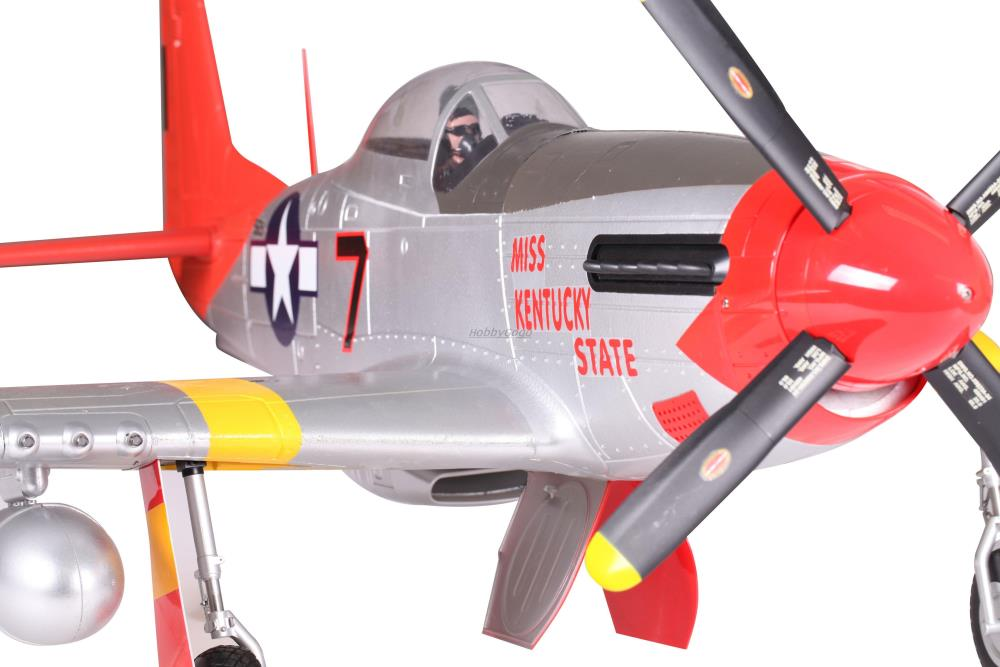 FMS 1700mm P-51D Mustang red color EPO Large scale RC airplane warbird giant foamy Hobby plane wholesale dropship PNP(China (Mainland))