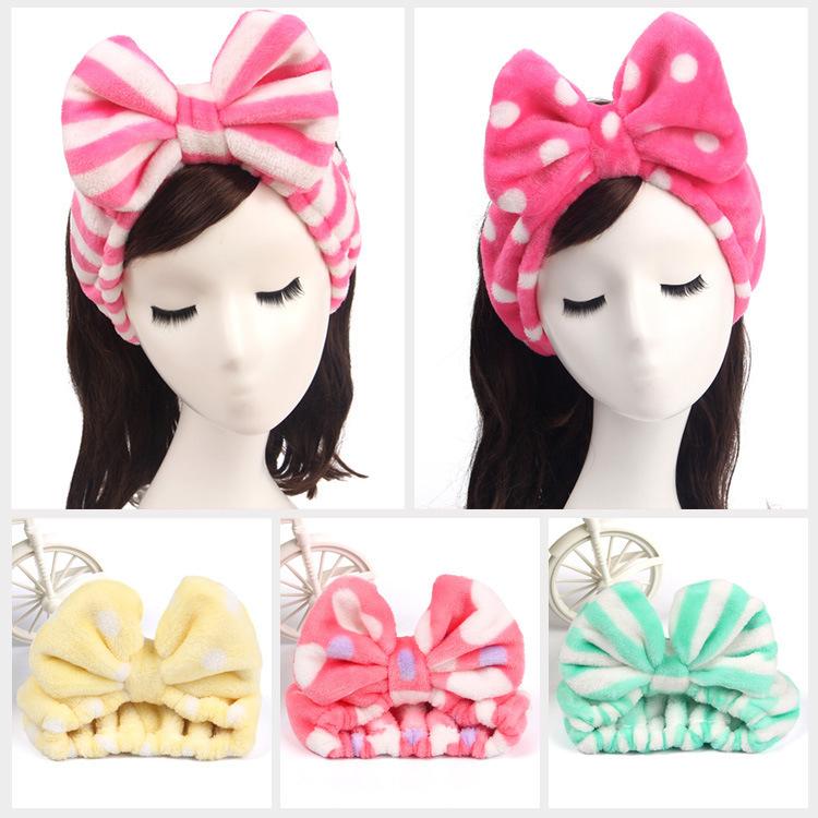 Bowknot Headband Cute Big Bowknot Headband