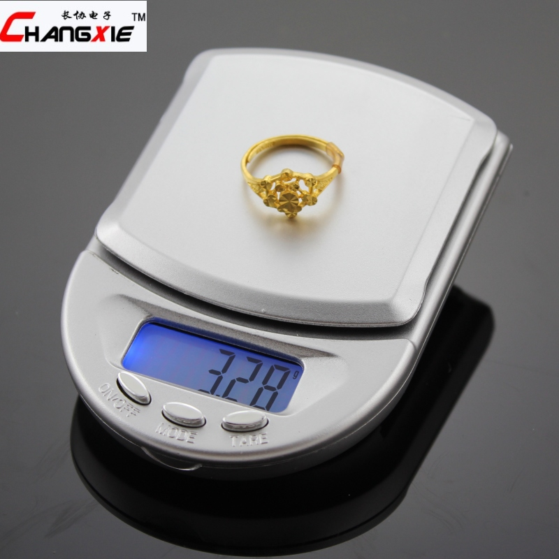 Portable jewelry scale/ electronic scales/ 0.01g mini gold tianping kitchen scale 0.1 tea traditional chinese medicine - Sino 's store